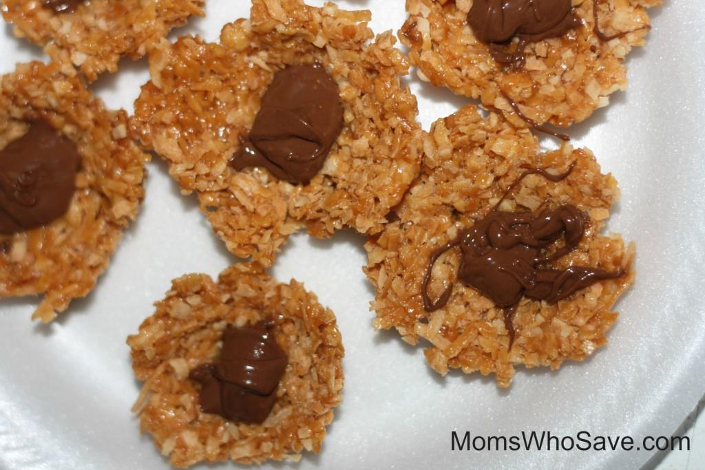No-Bake Bird's Nest Cookies | MomsWhoSave.com