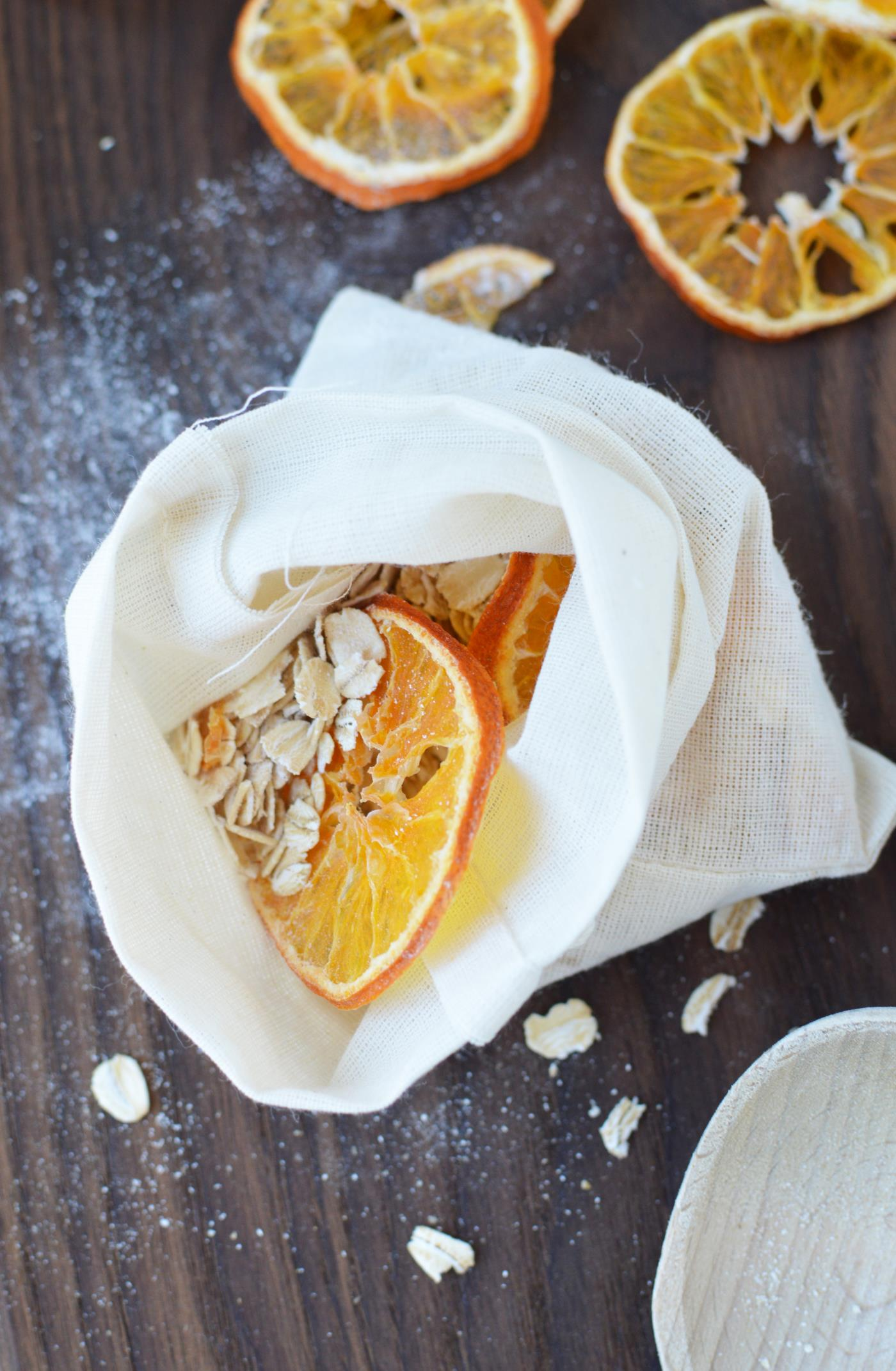 orange honey oat bath soak