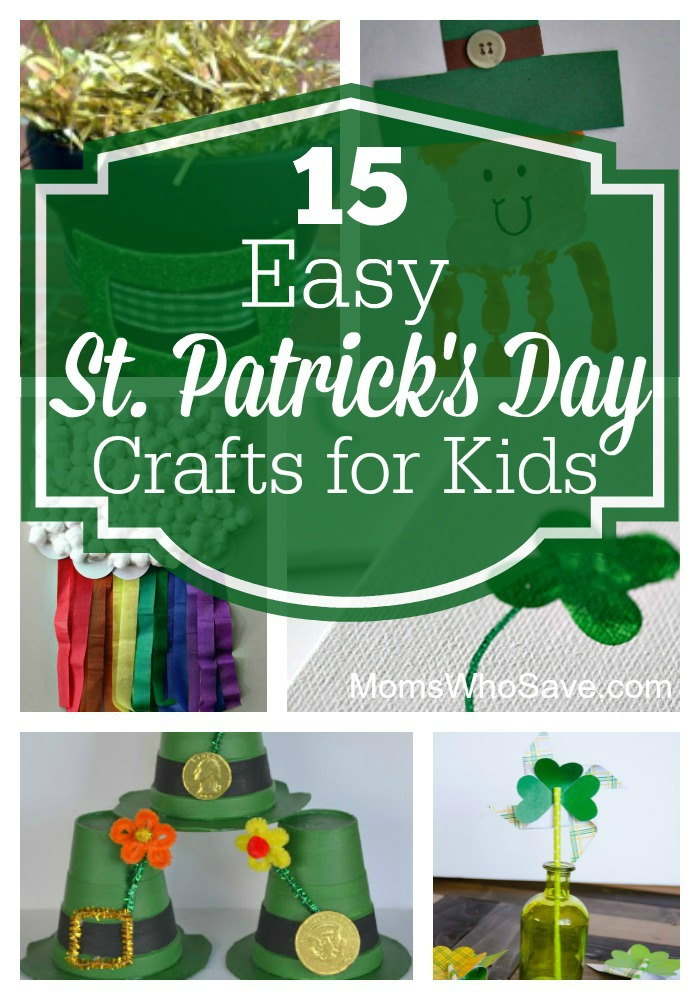 15 Simple And Cute Hairstyle Tutorials: 15 Easy St. Patrick's Day Crafts For Kids