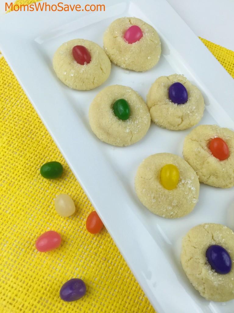 Jelly Bean Sugar Cookies recipe