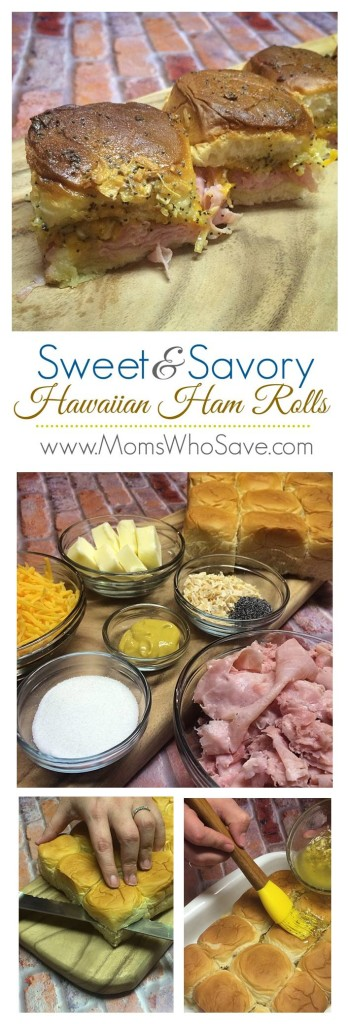 Hawaiian Ham Rolls recipe