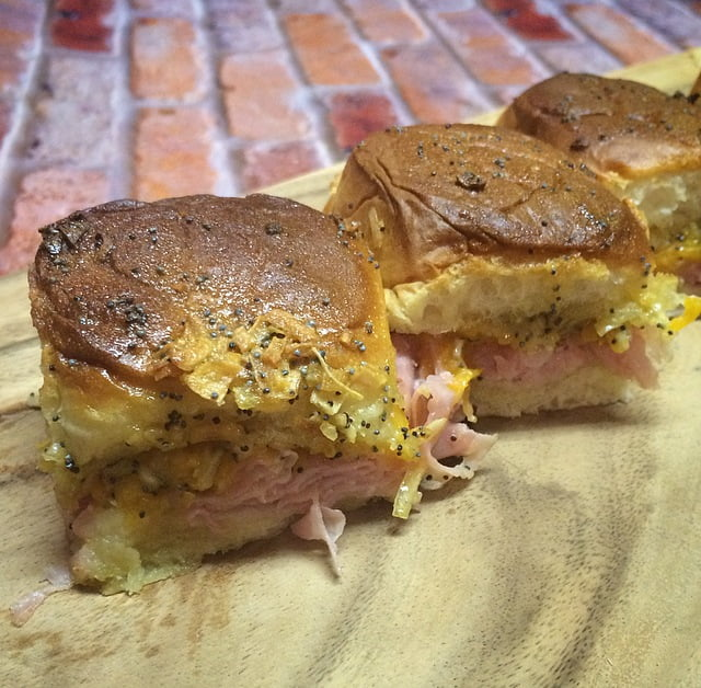 Sweet & Savory Ham Rolls