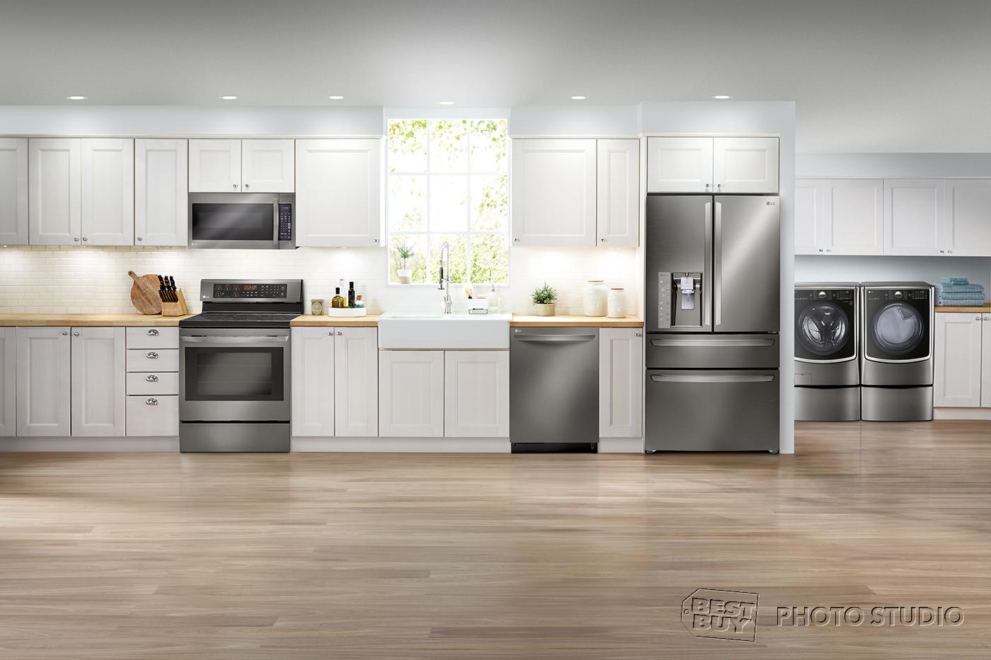 LG appliances at Best Buy