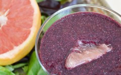 Blueberry Grapefruit Smoothie — Healthy and Delicious!