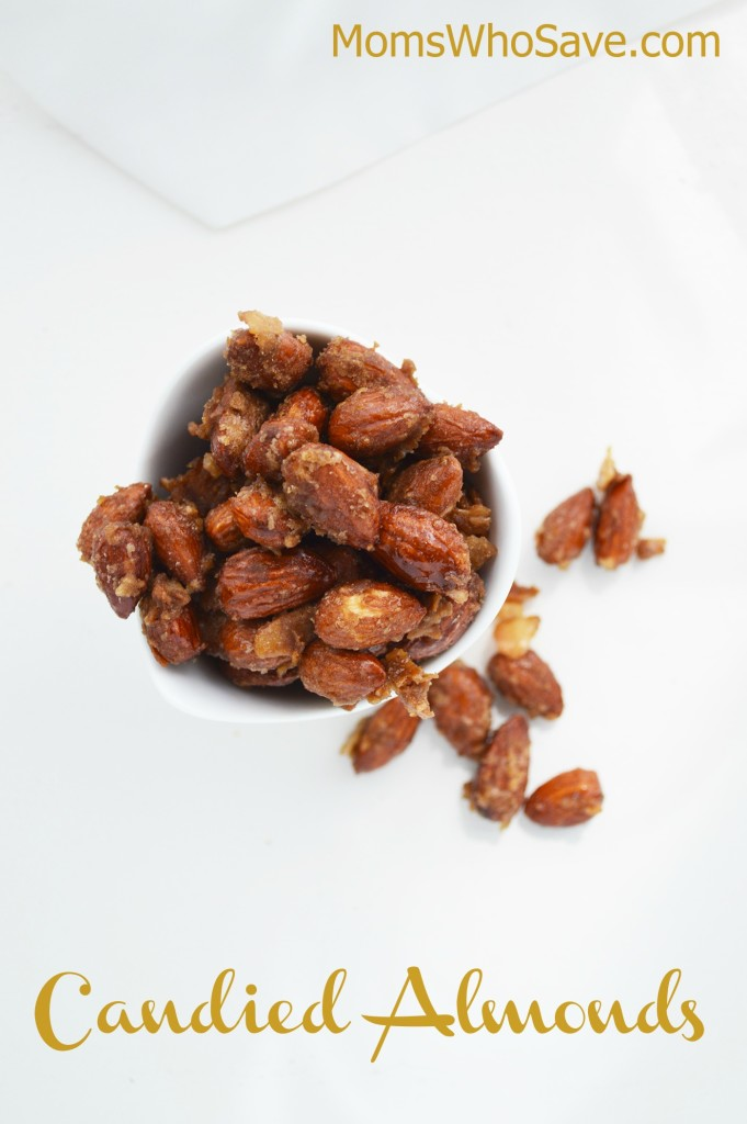 Candied Almonds Recipe | MomsWhoSave.com
