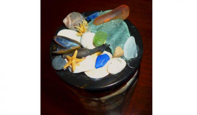 Beach Treasures Keepsake Jar — Easy DIY