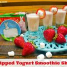 Yogurt Smoothie Shots With Annie's Homegrown Whole Milk Yogurt (on Sale at Publix) + Paypal Giveaway