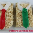 Father's Day Rice Krispies Treats