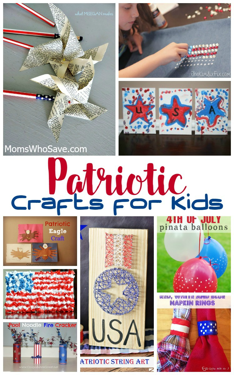 Patriotic Crafts for Kids