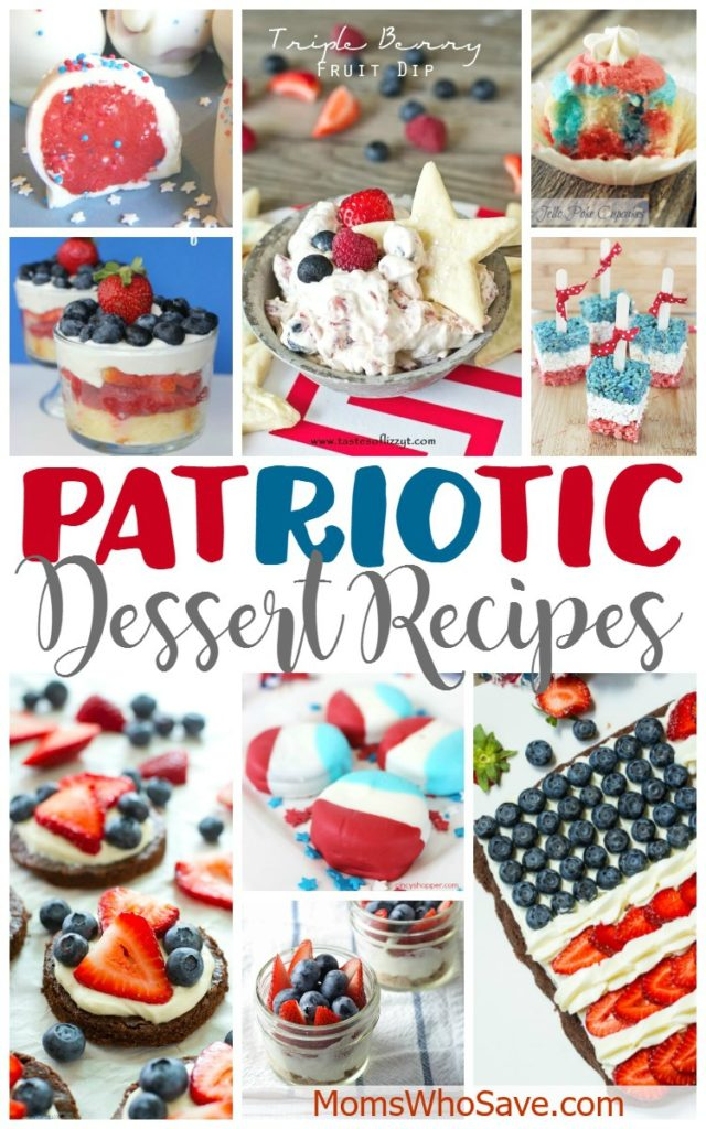 Patriotic Dessert Recipes