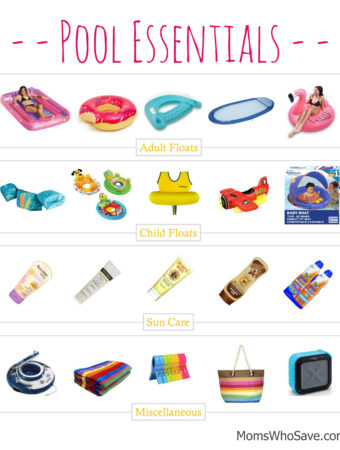 affordable pool essentials