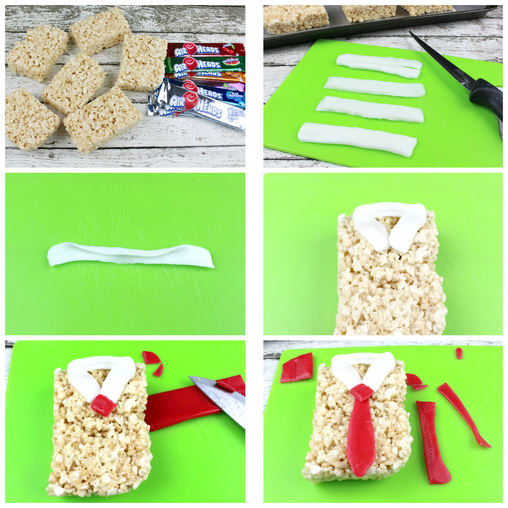 Fathers Day Rice Krispies Treats