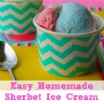 Easy Homemade Sherbet Ice Cream