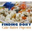 Finding Dory Cake Batter Popcorn