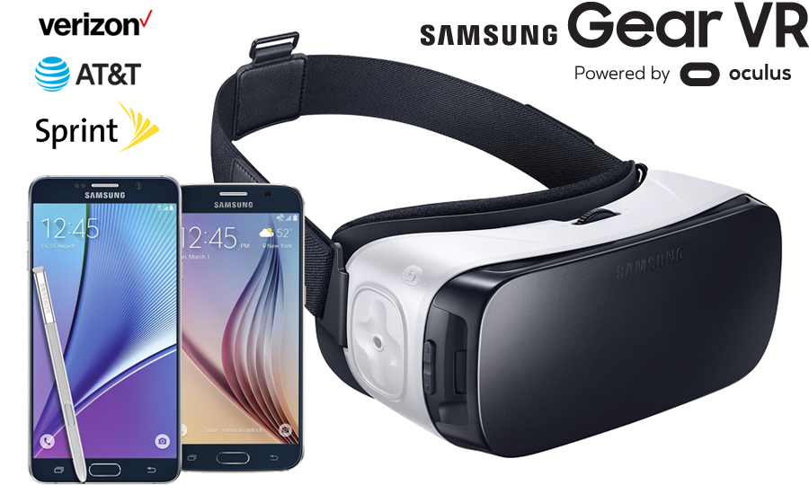 Mobile Virtual Reality is Here -- FREE Samsung Gear VR + $50 of Virtual Reality Content in Time for Father's Day!