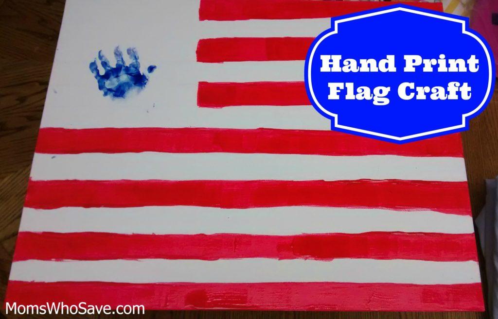 hand print flag craft 4