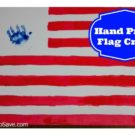 Hand Print Flag Craft PLUS a Giveaway — $150 Lowe's Gift Card & a P&G Prize Pack