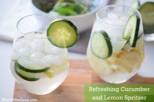 lemon lime cucumber spritzer (2)
