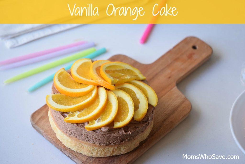 vanilla orange cake