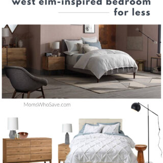 West Elm-Inspired Bedroom for Less