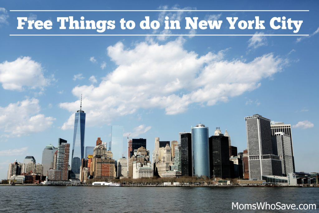 Free things to do in new york city for New york new york on the town