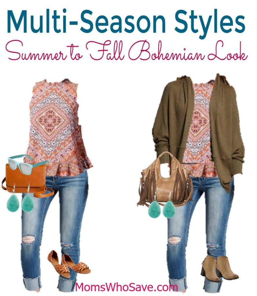 Summer to Fall Fashion - Boho Styles