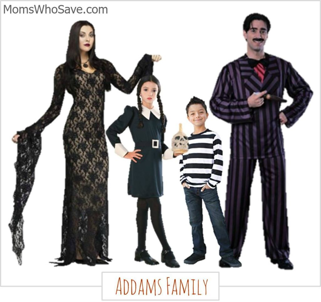family halloween costumes -- 4 fun ideas & where to buy