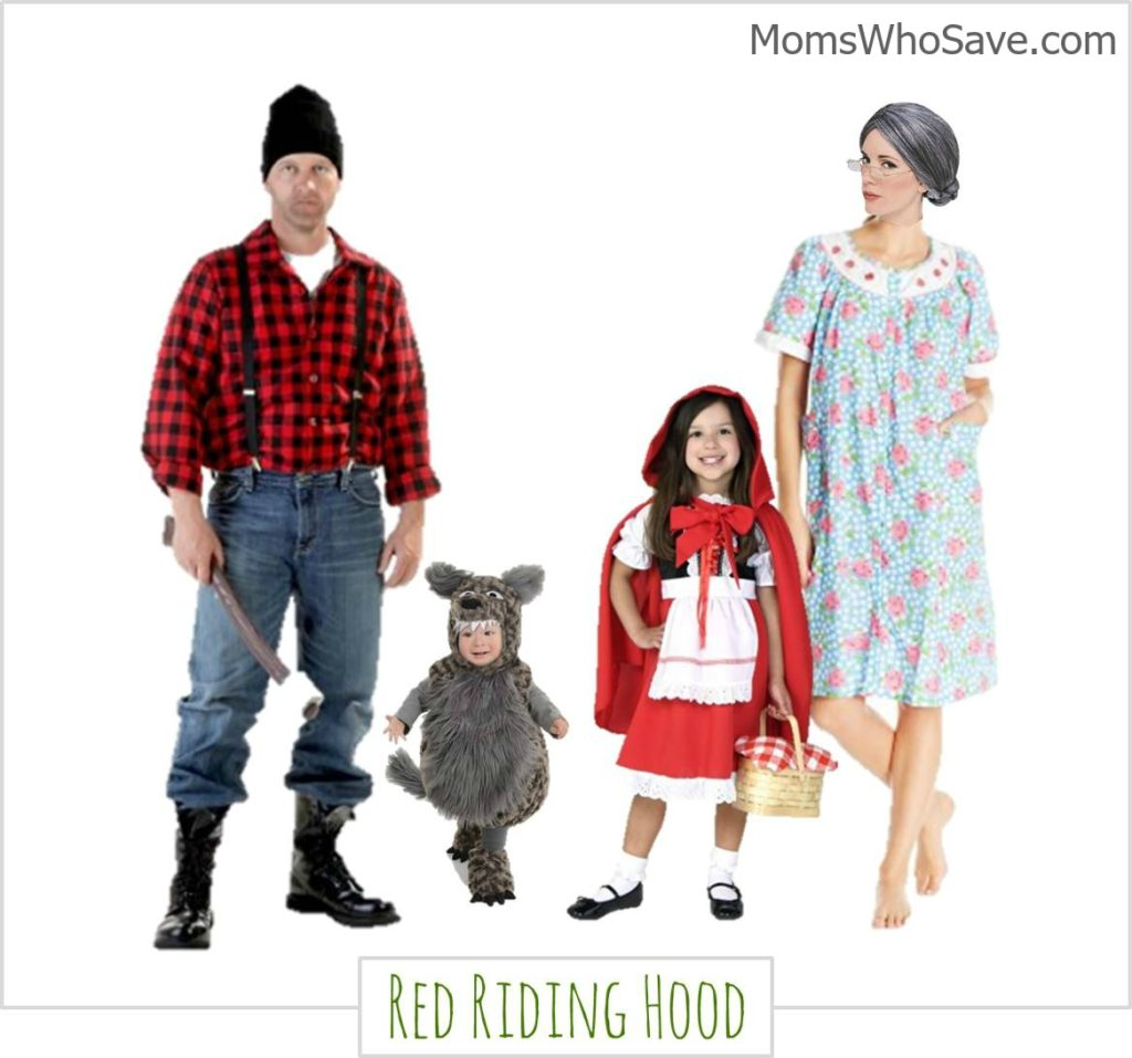 family-halloween-costumes-riding-hood  sc 1 st  MomsWhoSave.com & Family Halloween Costumes -- 4 Fun Ideas u0026 Where to Buy ...