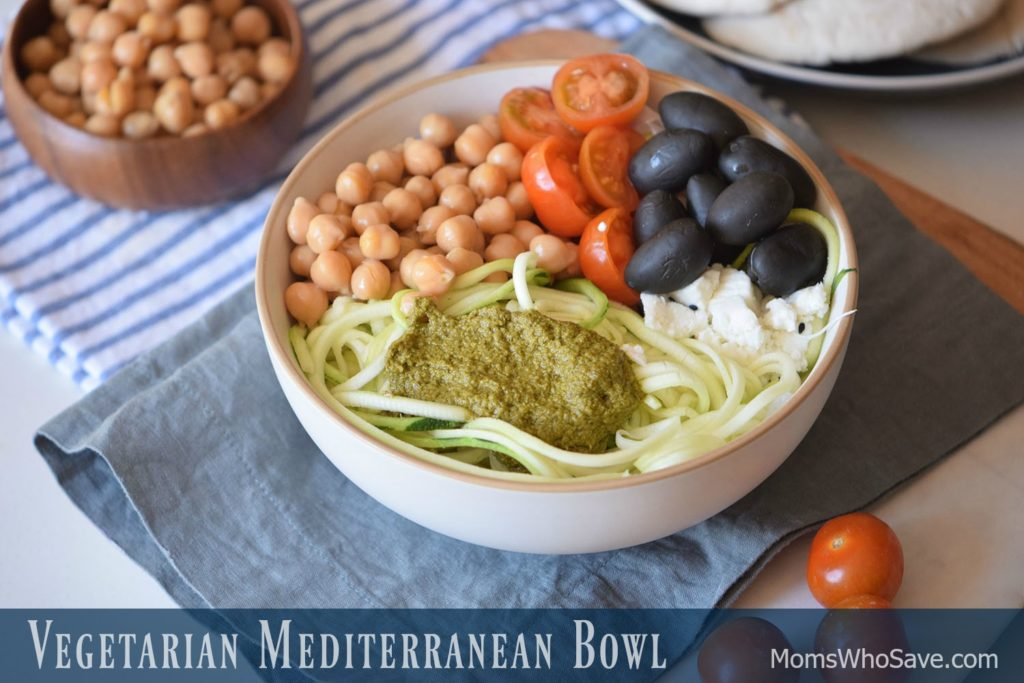 Mediterranean buddha bowl