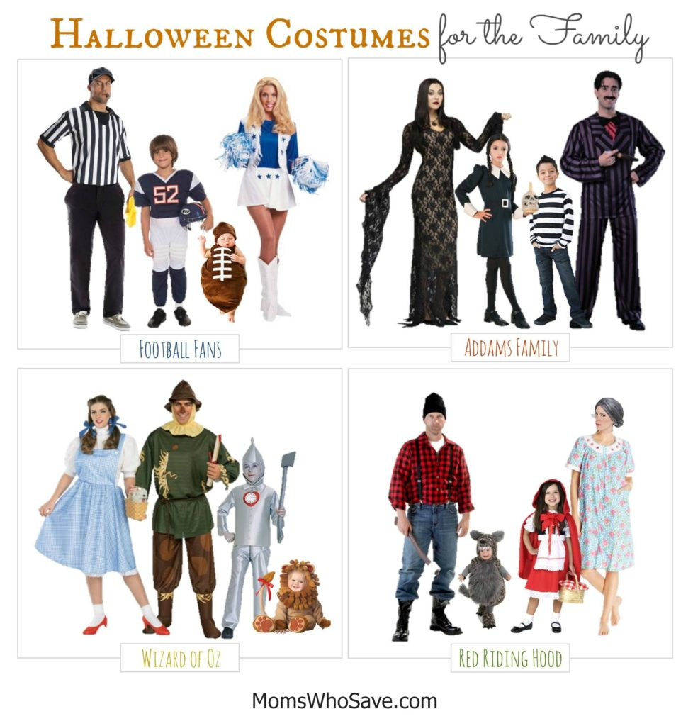 Halloween Costumes For Families Of 4 The Halloween