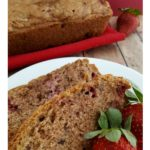 strawberry bread with pecans