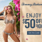 Tommy Bahama — Get Your Promo Code for $50 Off $100