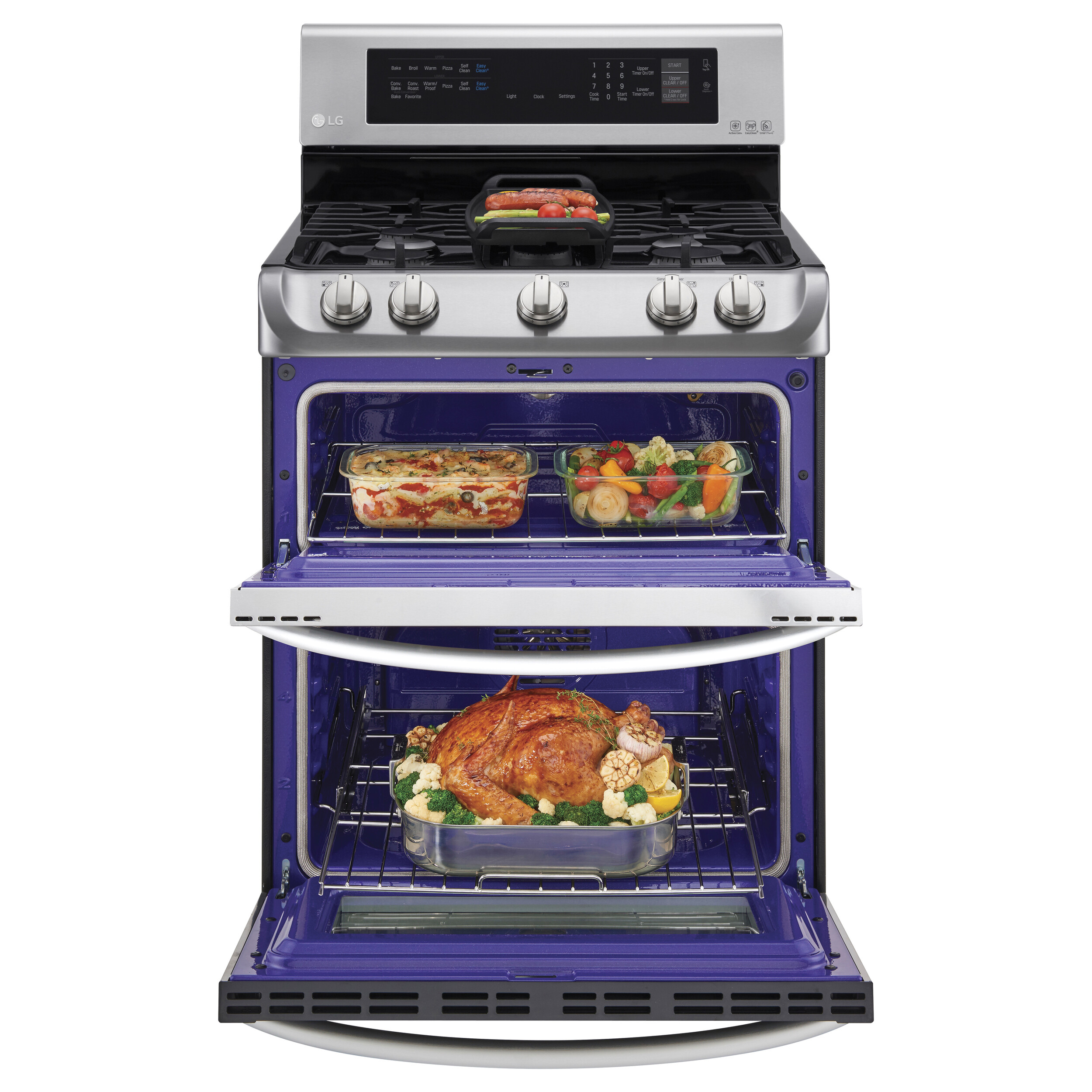 Just in Time for the Holidays -- You'll Love the LG ProBake Double Oven