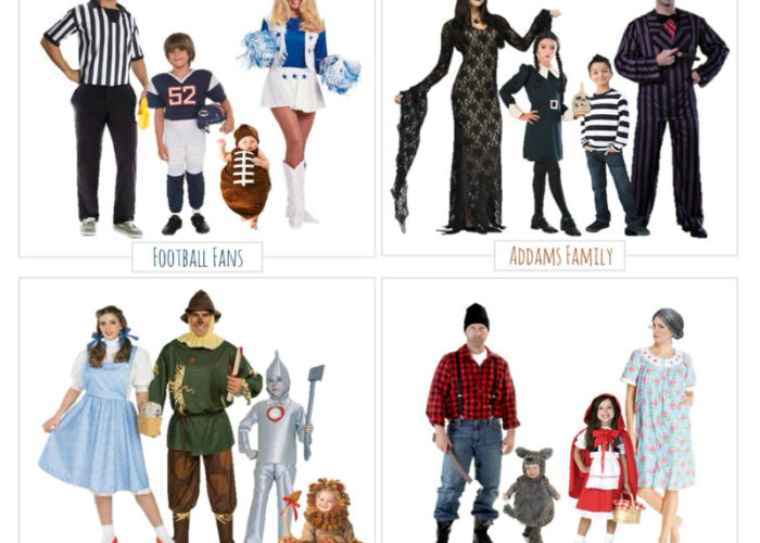 Family Halloween Costumes — 4 Fun Ideas & Where to Buy