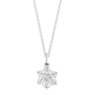 Helen Ficalora Sterling Silver Snowflake Charm Necklace Review & Giveaway