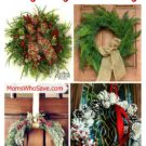 9 DIY Christmas Wreaths to Dress Up Your Door