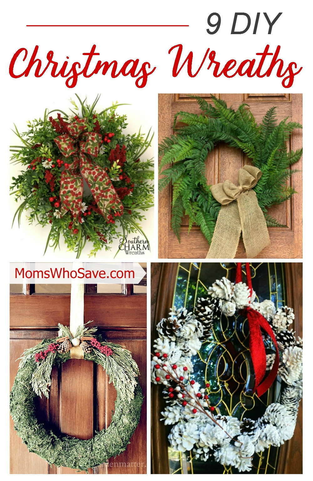 christmas-wreaths diy