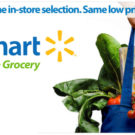 Walmart Grocery — Save $10 on your $50 Grocery Pickup!