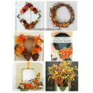 Fall Decor — 8 DIY Wreaths