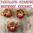 Chocolate-Covered Reindeer Cookies