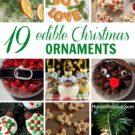 DIY — 19 Edible Christmas Ornaments