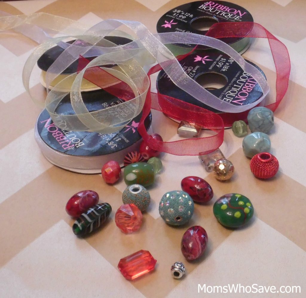 bead book mark supplies