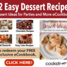 12 Easy Dessert Recipes — Free eCookbook