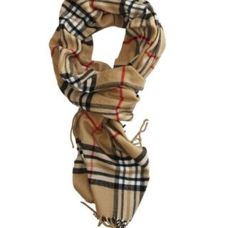 Classic Plaid Cashmere-Feel Scarf Now Under $7 Shipped