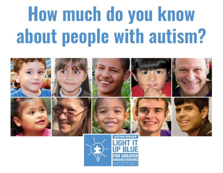 autism light it up blue