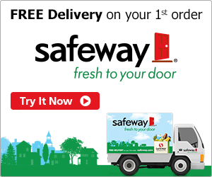Safeway Grocery Free Delivery 5 Off With Promo Code MomsWhoSavecom