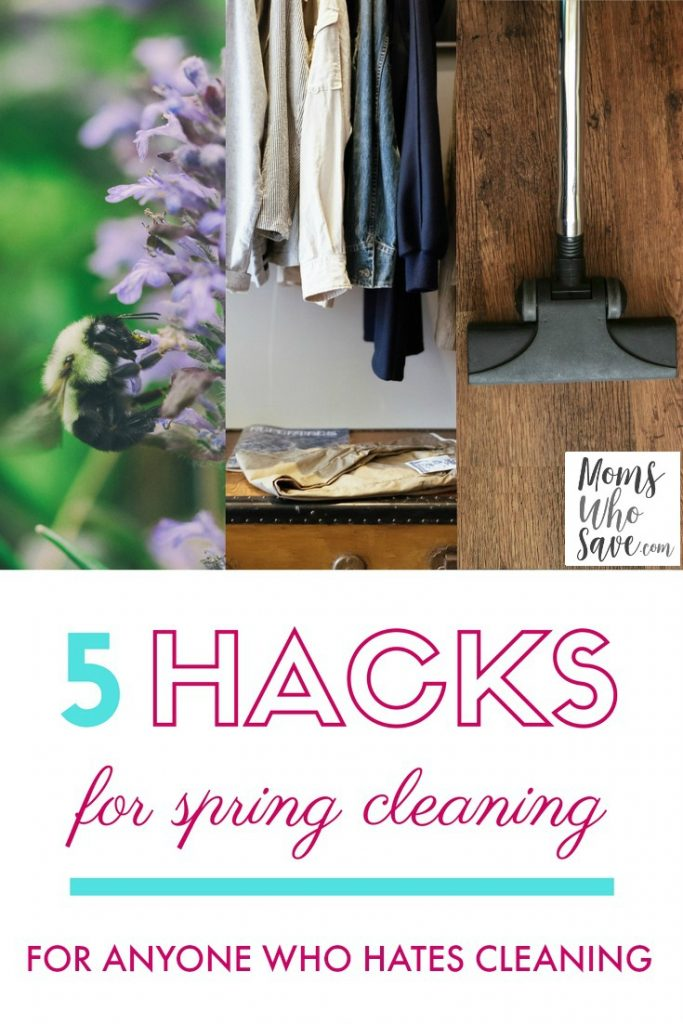 how to make spring cleaning easier