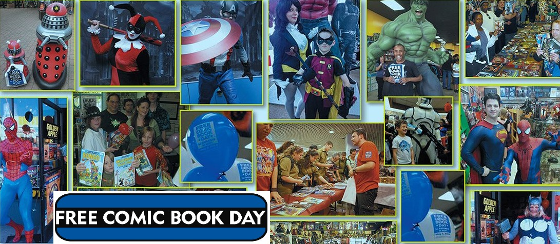 when is free comic book day