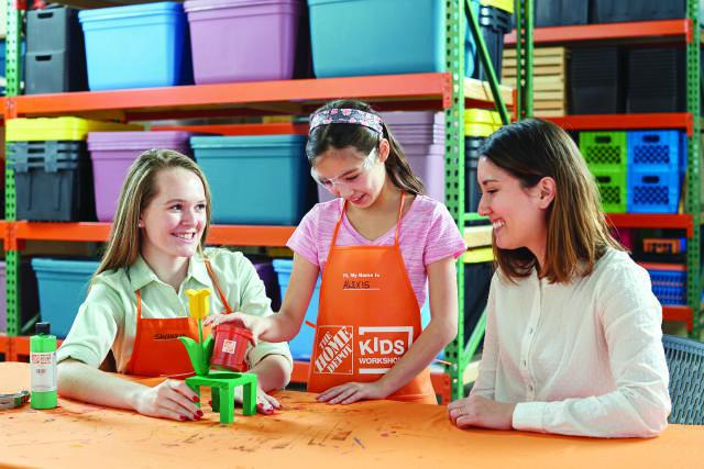 Home depot kids free workshop