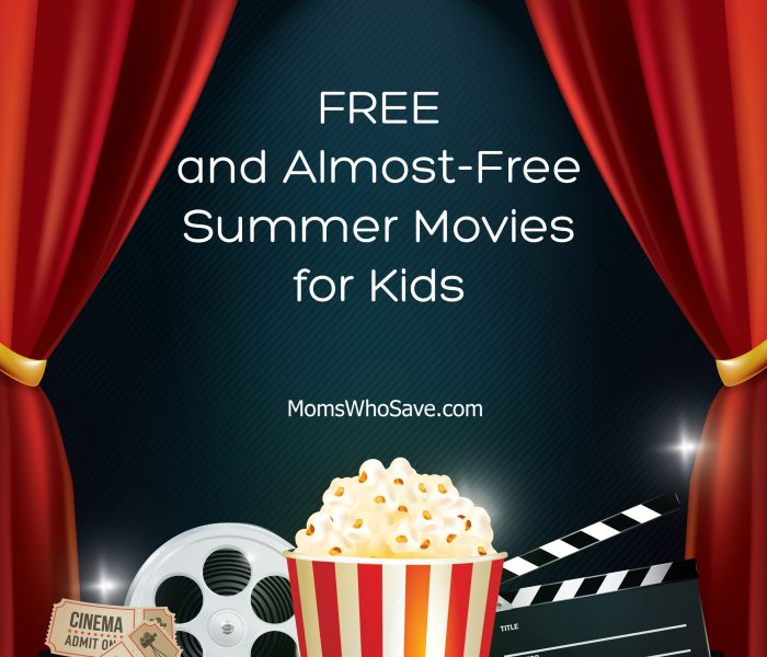 Low-Cost and FREE Summer Movies for Kids!